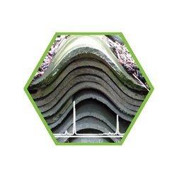 Entsorgung: Asbest und KMF Faseranalyse (VDI 3866 Blatt 5 Anhang B, akkreditierte Methode mit Nachweisgrenze 0,001 %)