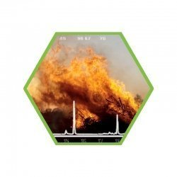 VOCs producted by burning materials