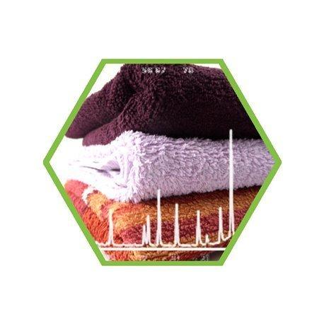 Laboranalyse: organische Halogene in Textilien und Kleidung