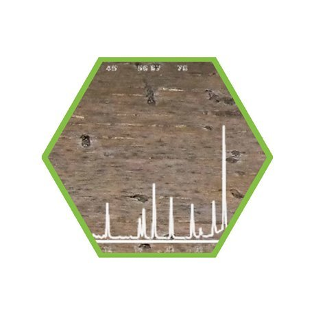 Foggingscreening in swipe sample (blank included), pro m²