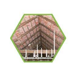 Luftprobe: Holzschutzmittel (vor 1950) in PU-Schaum (µg/Probe)