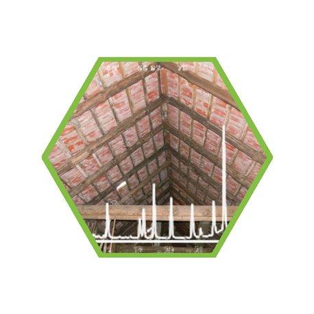 Luftprobe: Holzschutzmittel (alt) in PU-Schaum (µg/Probe)