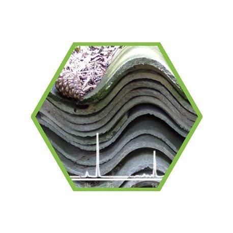 Asbest in Teerpappe/