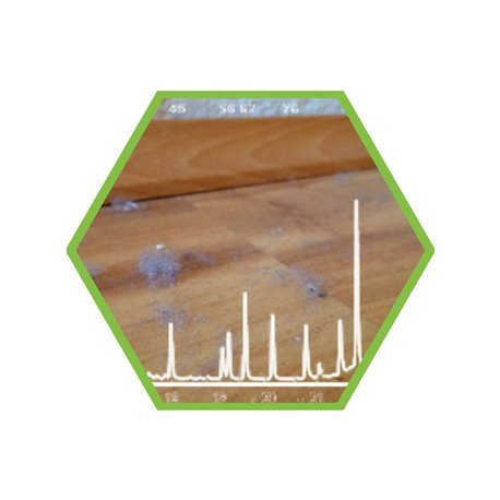 dust: screening of contaminants comming from indoor places
