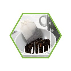 Pestizides in tea, tea like products (screening of ca. 650 compounds)