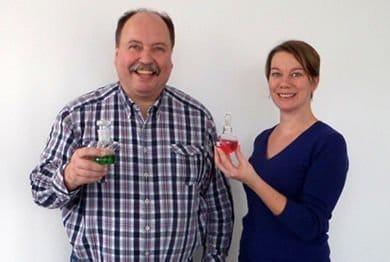 my-lab Gründer Monika Dust & Dr. Jürgen Lipinski